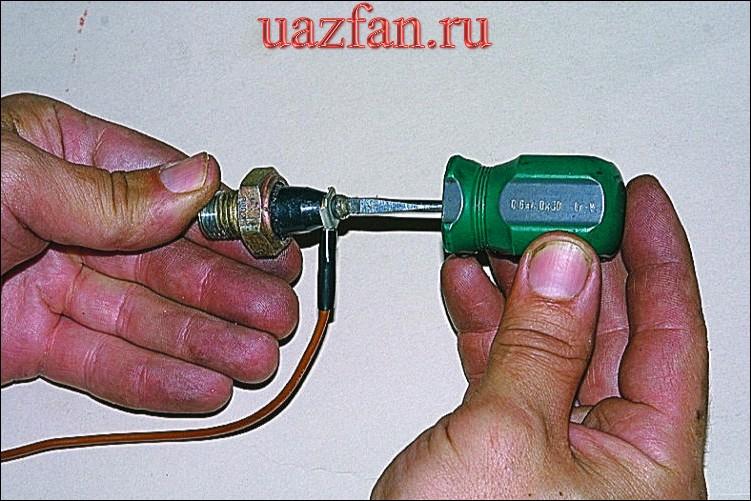 Замена датчиков системы смазки