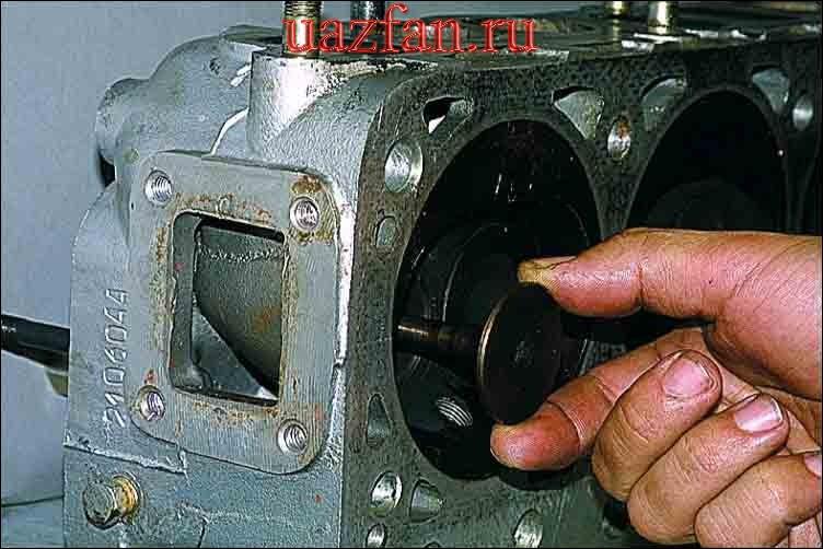 Разборка головки блока цилиндро