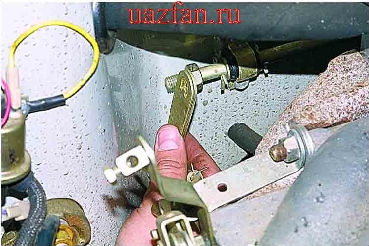 Снятие впускного трубопровода и выпускного коллектора