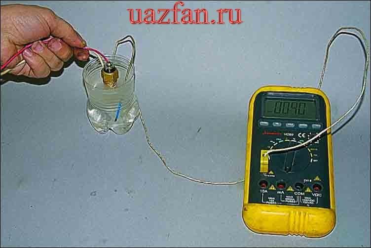 Указатель температуры охлаждающей жидкости