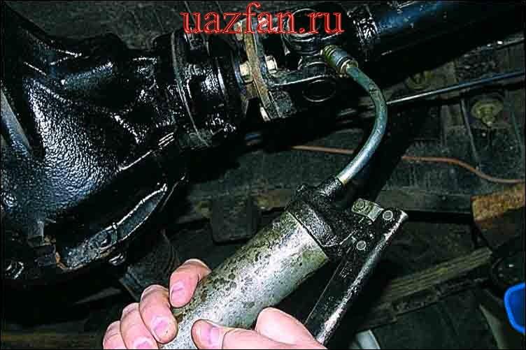 Смазка карданной передачи