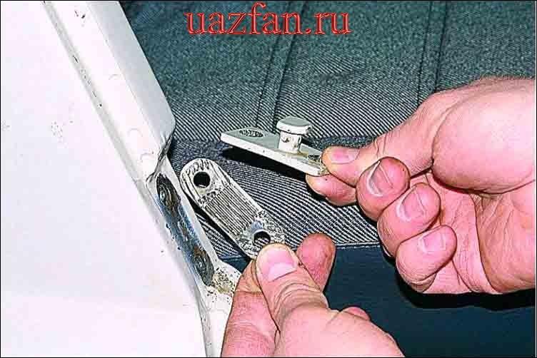 Снятие замка двери