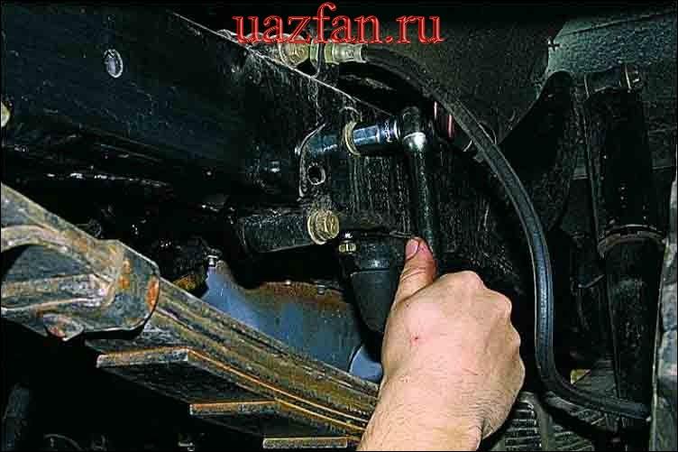 Снятие рулевого механизма с гидроусилителем