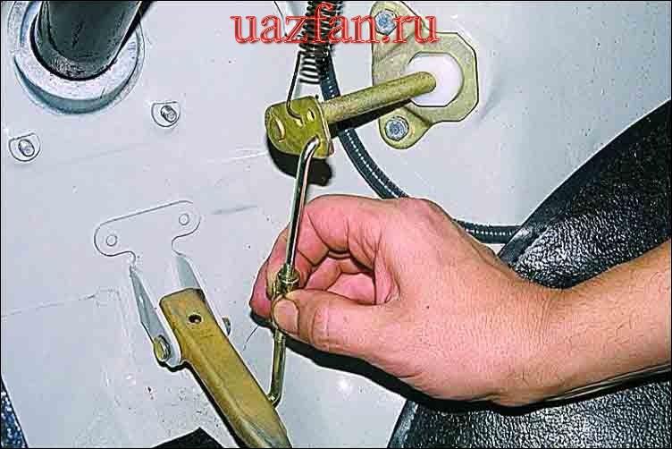 Регулировка привода дроссельных заслонок