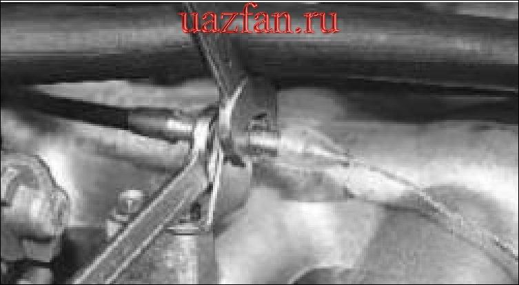 Замена тросса привода дроссельной заслонки