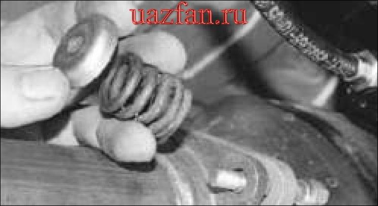 Снятие и установка глушителя