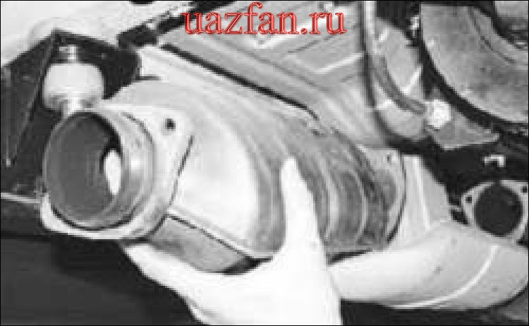 Снятие и установкакаталитического нейтрализатора