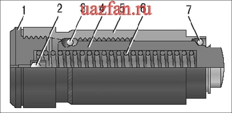 Снятие и разборка гидронатяжителя цепей