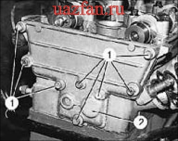 Разборка ремонт и сборка головки блока цилиндров