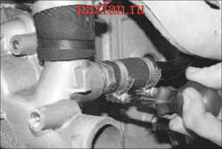 Снятие и установка водяного насоса