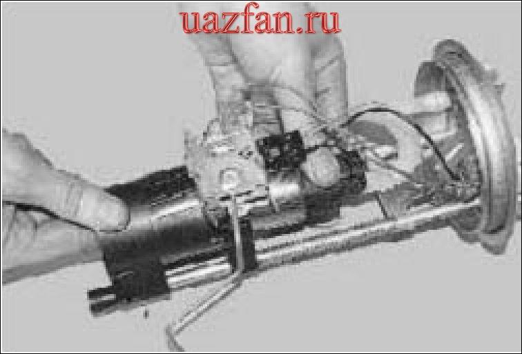 Снятие ремонт и установка топливного насоса
