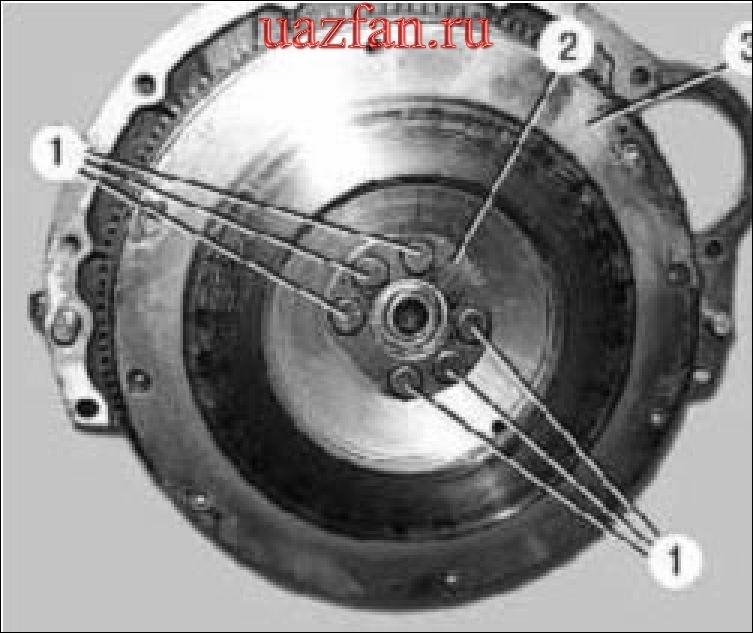Снятие ремонт и установка коленчатого вала
