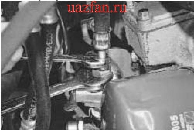 Замена редукционного клапана и крана масляного радиатора