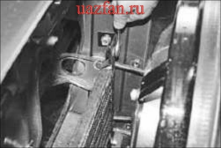 Снятие и установка масляного радиатора