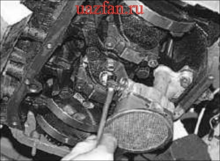 Снятие ремонт и установка масляного насоса