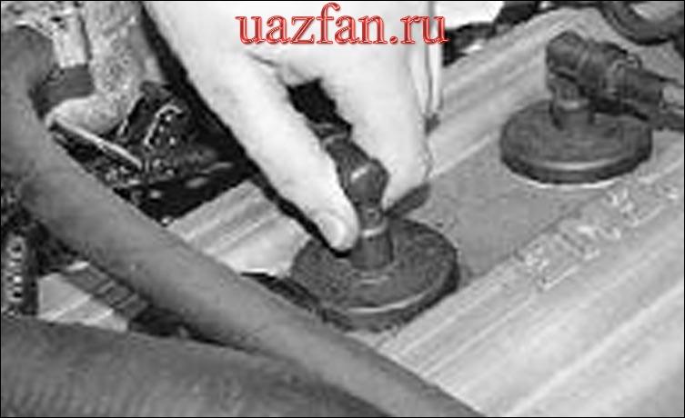 Замена прокладки крышки блока цилиндров