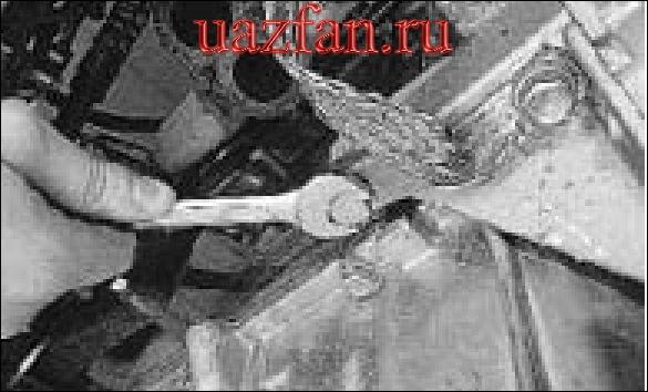Замена уплотнения масляного картера