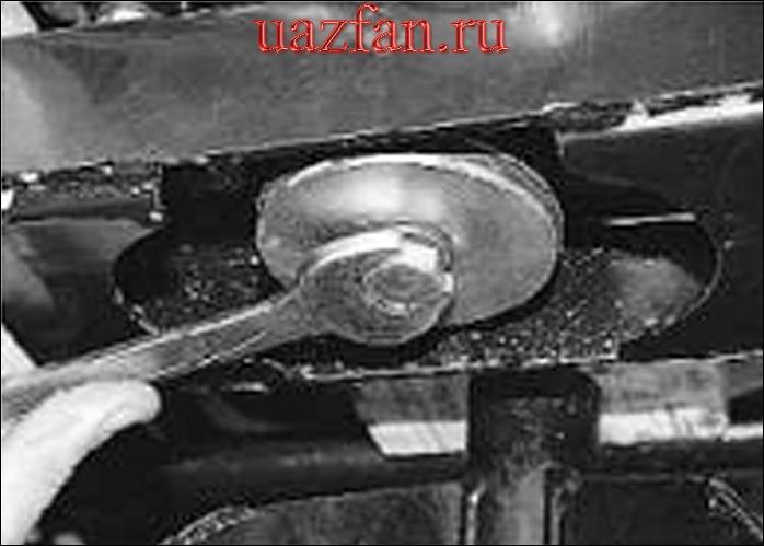 Замена задних опор подвески силового агрегата