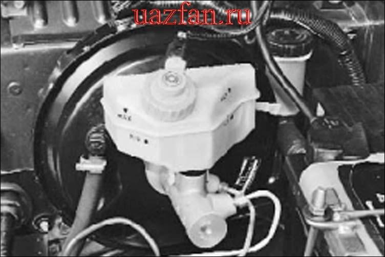 Двигатель холодный