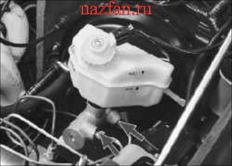 Проверка герметичности гидропривода тормозов
