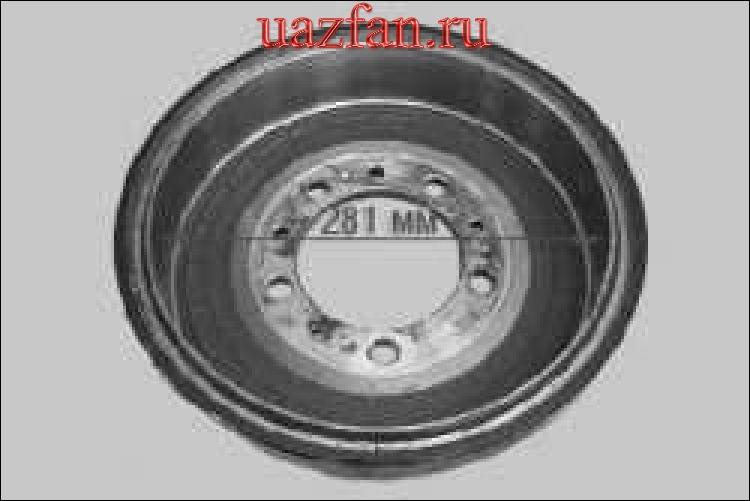 Проверка степени износа тормозных колодок