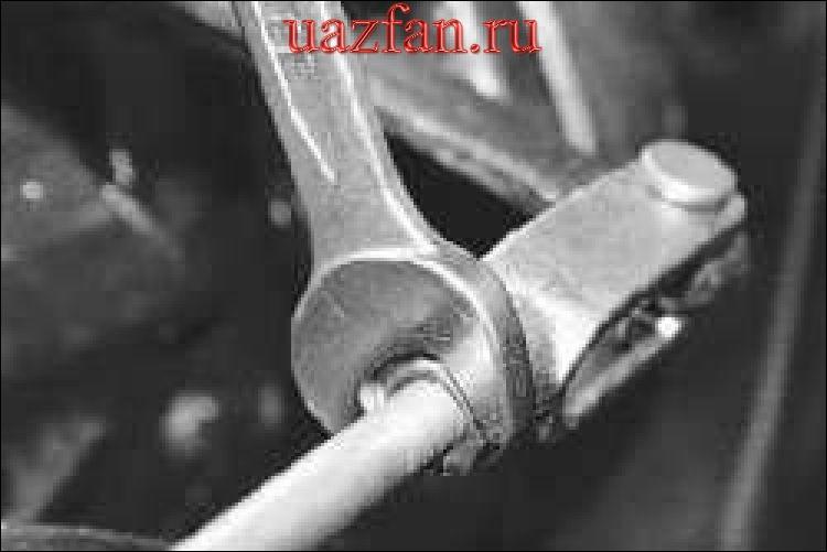 Регулировка привода стояночного тормоза