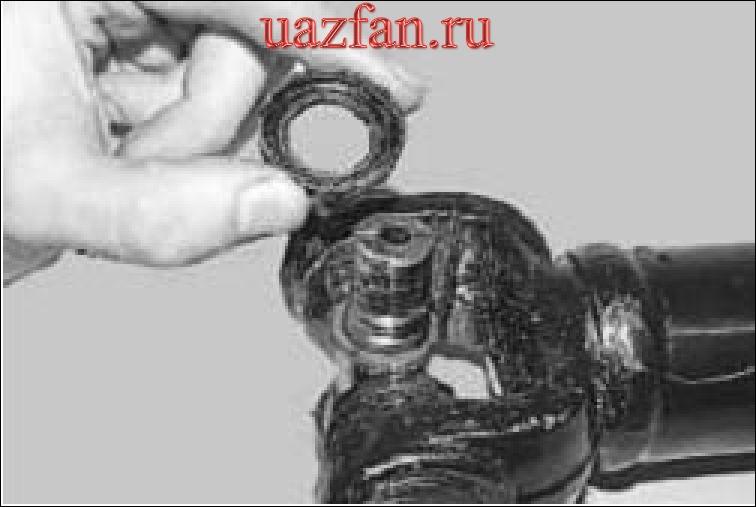 Замена крестовин карданной передачи