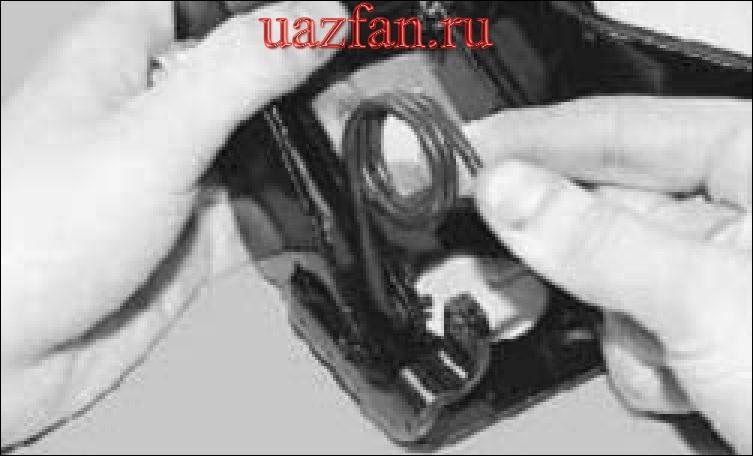 Снятие и установка педали сцепления