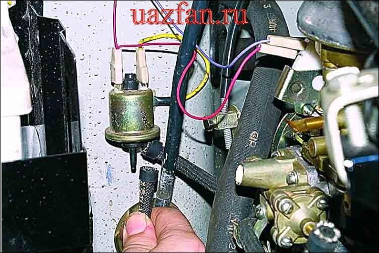 Перевод системы зажигания на работу в аварийном режиме