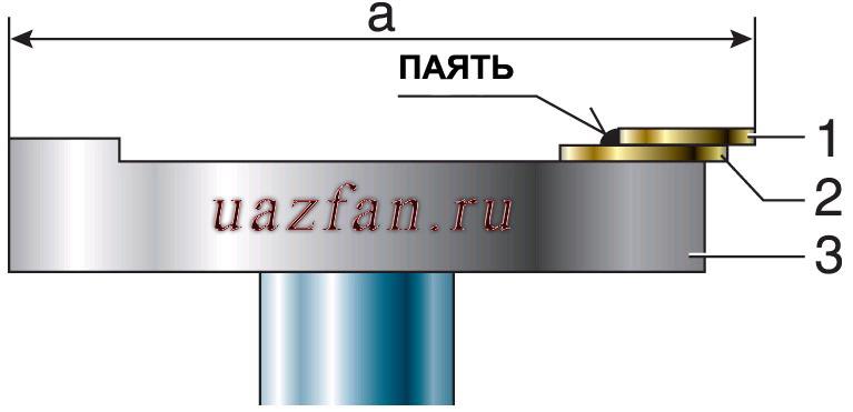 Ремонт бегунка токоразносной пластины