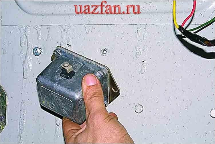 Замена аварийного вибратора